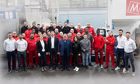 Team Futura Woodmac, Produzione Macchine Lavorazione Legno