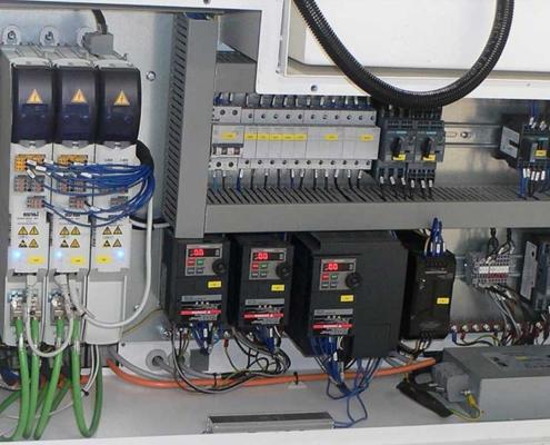 Futura Woodmac innovation, CNC Milling Machines: automatic parameter setting