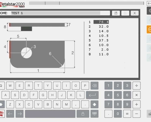 Futura Woodmac innovation, CNC Milling Machines: macro programming, paumelle