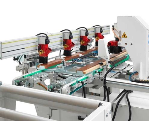 Innovazione Futura Woodmac, Fresatrici Anubatrici CNC: macchina da linea
