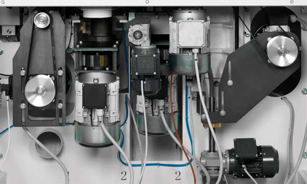 Independent motors, Wood Moulder Machines Futura Woodmac