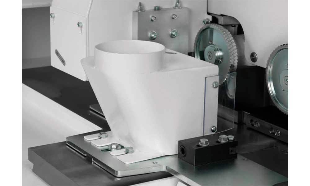Suction system, Wood Moulder Machines Futura Woodmac