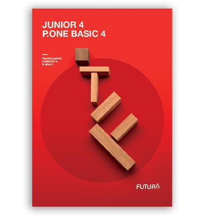 4 Sided Planers: catalog Junior and P.One Basic: Futura Woodmac