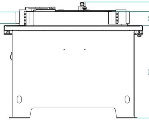 Level 150 (visione frontale), Futura Woodmac