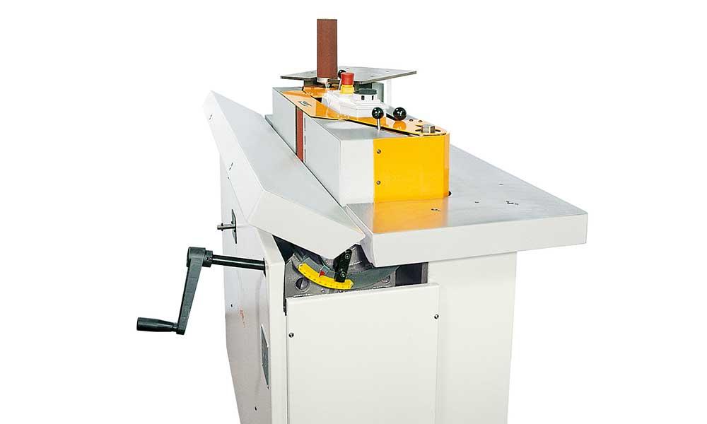 Tilting worktable, wood sander Level 150: Futura Woodmac