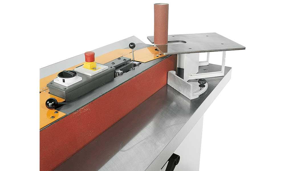 Supplementary table, wood sanders Futura Woodmac