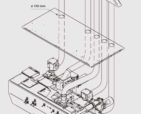 P.Max (visione esplosa), Futura Woodmac