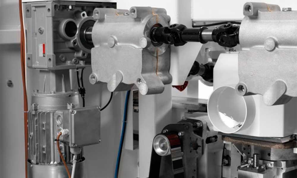 Moto-riduttore ortogonale, Piallatrici Profilatrici Scorniciatrici Futura Woodmac