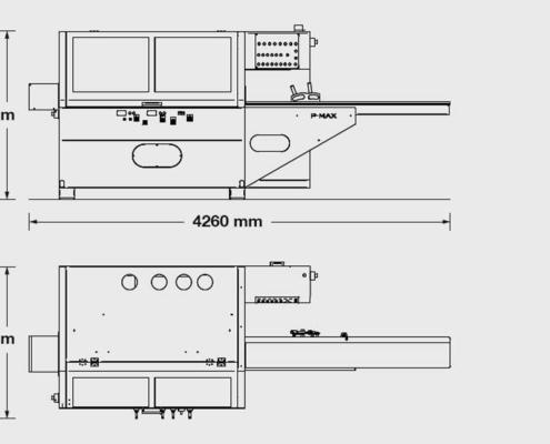 P.Max 4, P.Max 4 + Bottom: Futura Woodmac