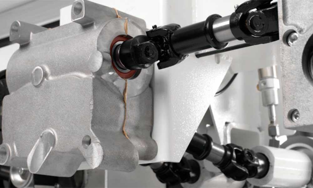 Cardan-shaft drive gearboxes, Wood Moulder Machines Futura Woodmac