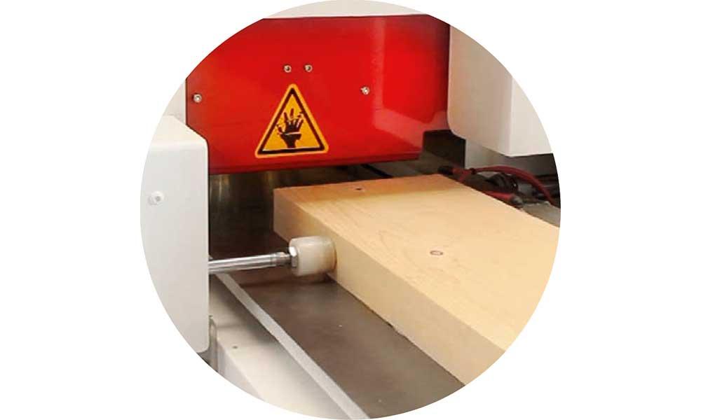Mobile working width, Wood Moulder Machines Futura Woodmac