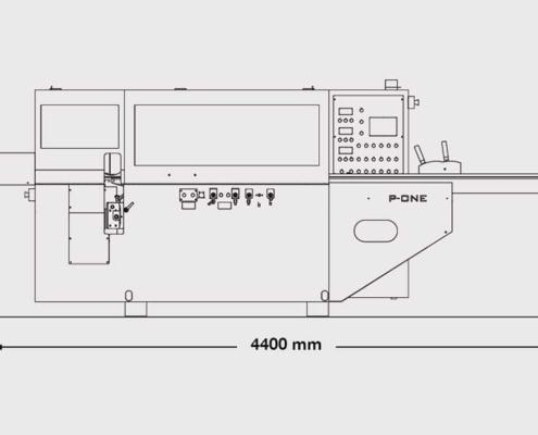 P.One 4+Universale (front plan), Futura Woodmac
