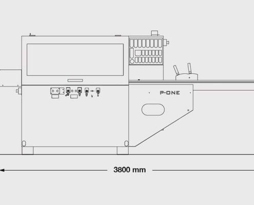 P.One Basic (visione frontale), Futura Woodmac
