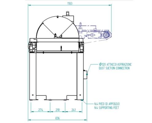 Sfera 60 (front plan), Futura Woodmac