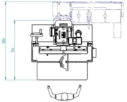 Sfera 60 (plan from above), Futura Woodmac