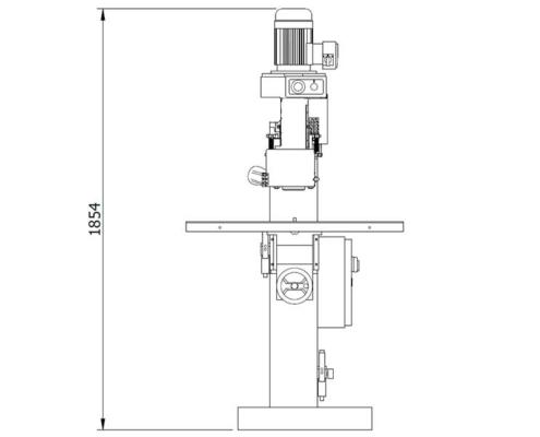 Skema 800 (front plan), Futura Woodmac