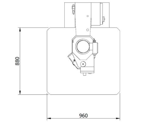 Skema 800 (plan from above), Futura Woodmac