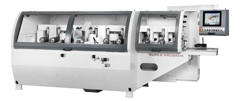 Four Sided Planer Moulder: Super Program, Futura Woodmac