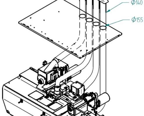 Super Program 4 (exploded plan), Futura Woodmac