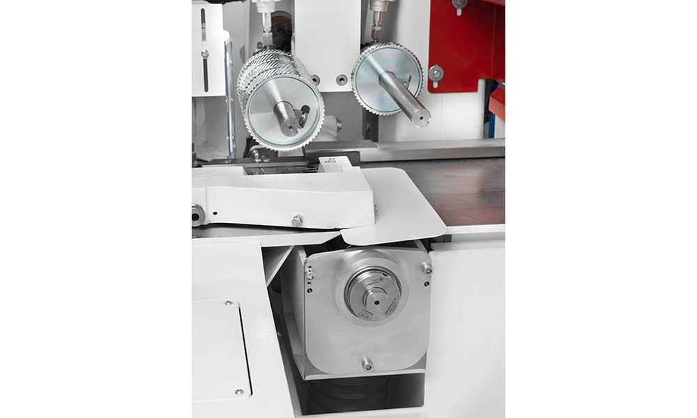 Counter-supported working shafts, Super Program: Futura Woodmac