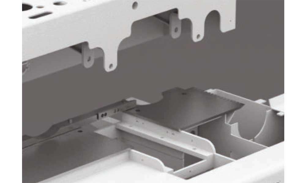 Hardox HB400 worktable, Super Program: Futura Woodmac