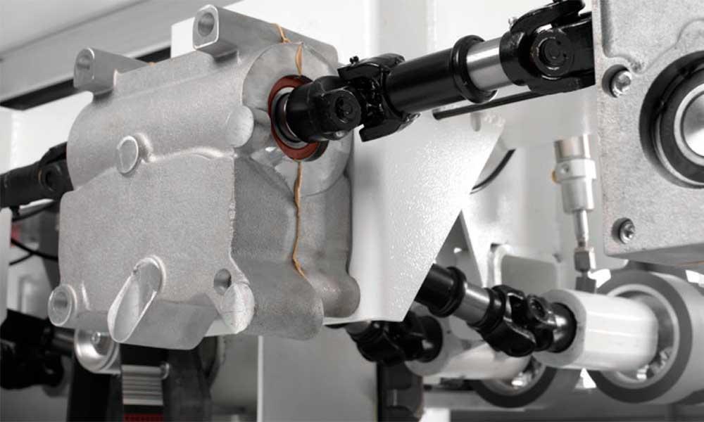 Scatole ingranaggi con trasmissione cardanica, Super Program: Futura Woodmac