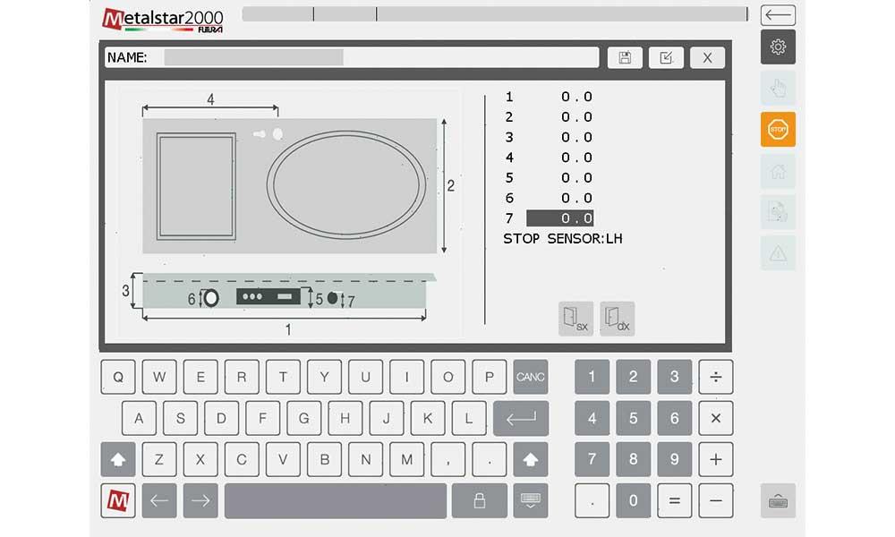 Programmation macro, Fraiseuses CNC Charnière Paumelle Anuba: Futura Woodmac