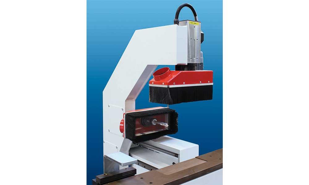 Testa a fresare, Fresatrici CNC Anubatrici Futura Woodmac