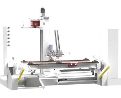 CNC Milling Hinge Boring Machine: Tekno Control, Futura Woodmac
