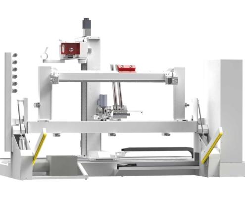 Fraiseuse CNC Charnière Paumelle Anuba: Tekno Control, Futura Woodmac