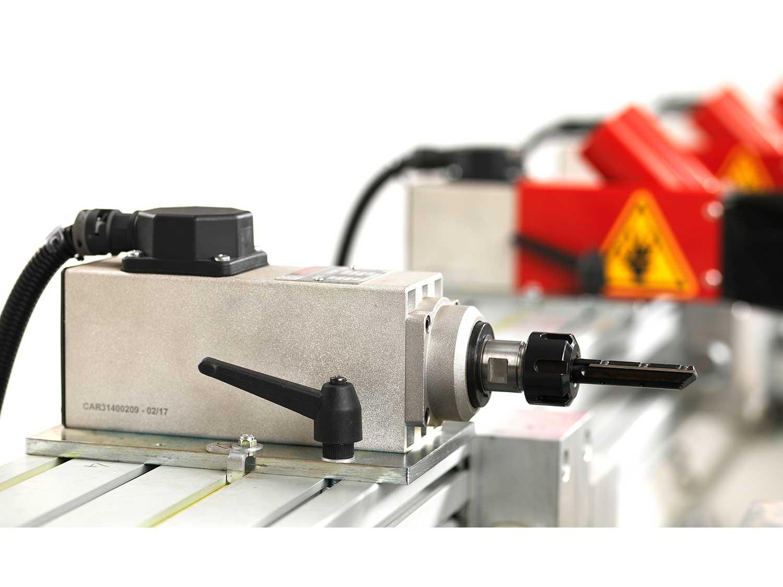 Door Hinge Processing, CNC Milling Hinge Boring Machines Futura Woodmac