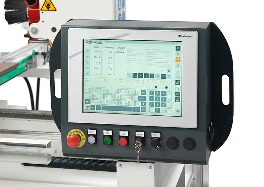CNC Touch Screen, Tekno Prime - Futura Woodmac