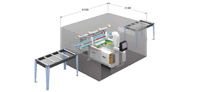 Fresatrice CNC Tekno Prime, Lavorazione Legno