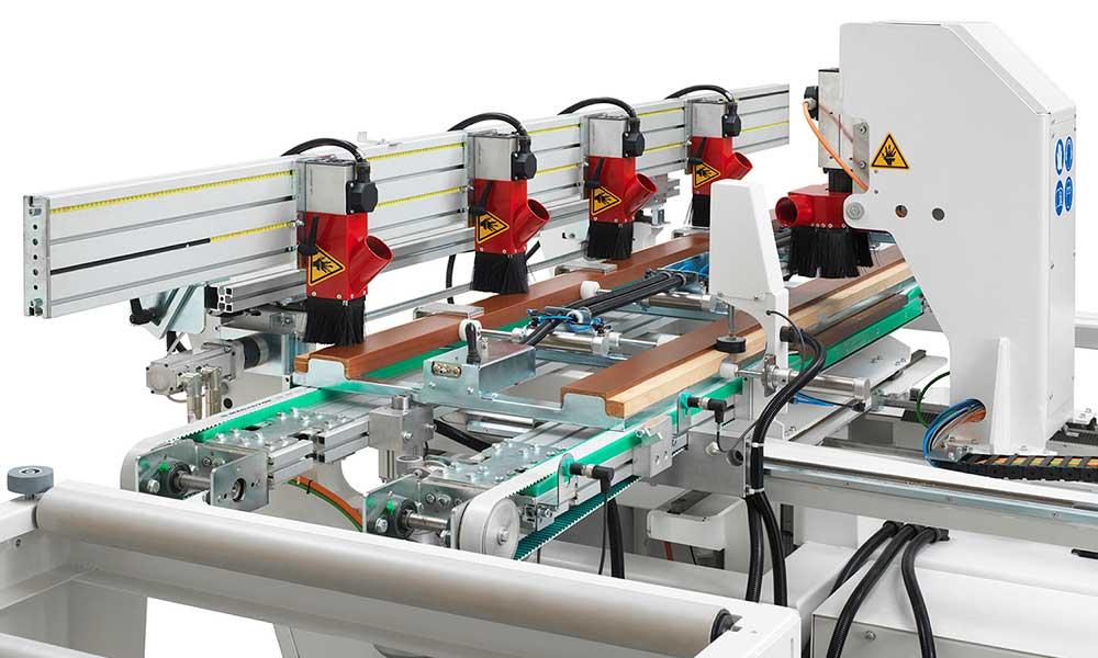 Lavorazione Telaio Porte, Fresatrici CNC Anubatrici Futura Woodmac