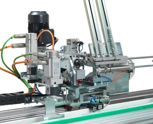 Anuba and hinges processing, Tekno X2 - Futura Woodmac