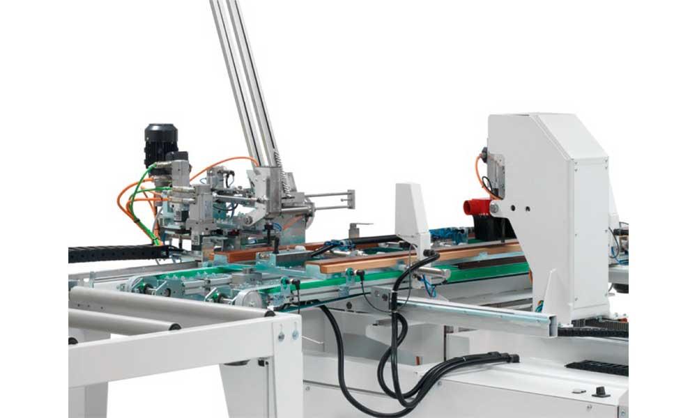 Frame machining, CNC Milling Hinge Boring Machines Futura Woodmac