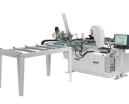 Fresatrice CNC Anubatrice Tekno X2 (in linea), Futura Woodmac