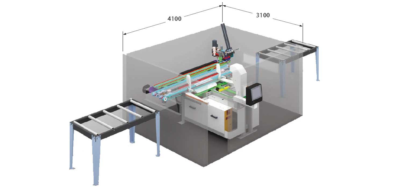 Fresatrice CNC Anubatrice Tekno X2, Lavorazione Legno