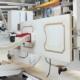 Nouvelles Futura Woodmac: vidéo sur la CNC fraiseuse ficheuse anuba Tekno Control